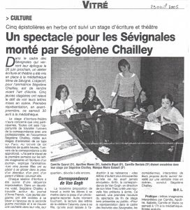 article-de-presse-journal-de-vitre-avril-2009