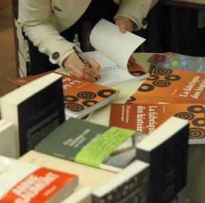 Soirée lecture dédicace de La fabrique des histoires à la librairie Vivement Dimanche à Lyon