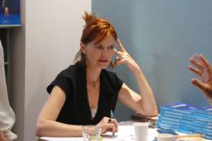 Séance de dédicace Ségolene Chailley roman La donneuse sans visage à L'horizon littéraire
